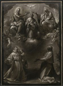 Coronation of the Virgin with Saints Anthony of Padua and Carlo Borromeo