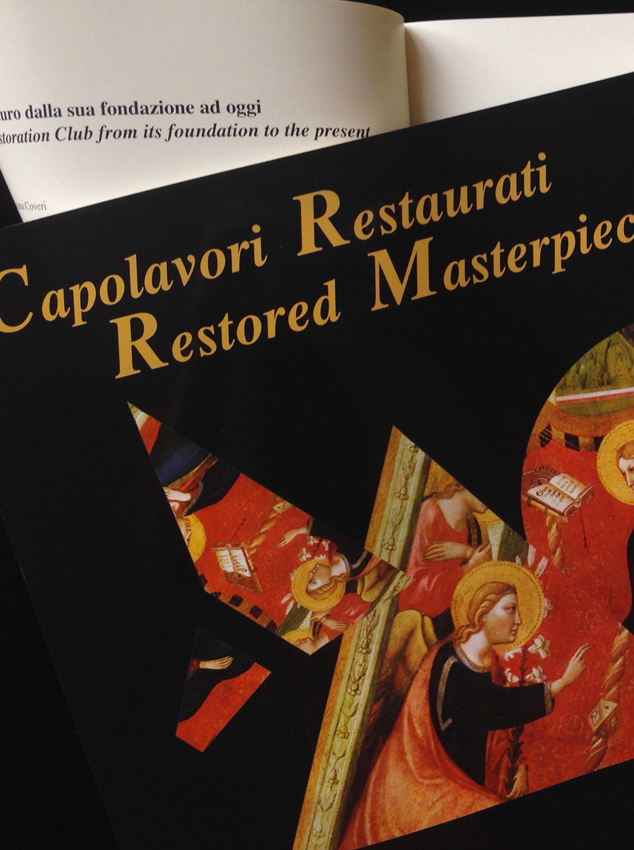 pubblicazioni - capolavori restaurati
